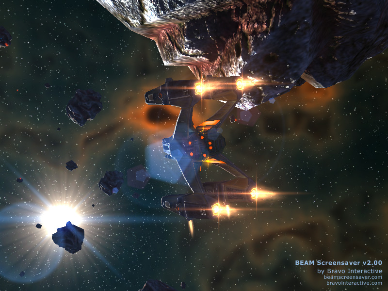 Dive into fantastic world of furious space battles Screen Shot